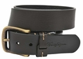 Tommy Hilfiger Pull Up Bridle Leather Belt - Black