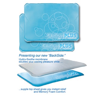 Chillow Plus Cooling Pillow 2 Pack