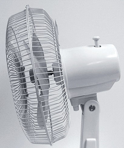 Comfort Zone 16 Inch Oscillating Table Fan My Cooling Store