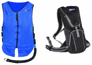 Kewlflow Circulatory Cooling Vest With Backpack My