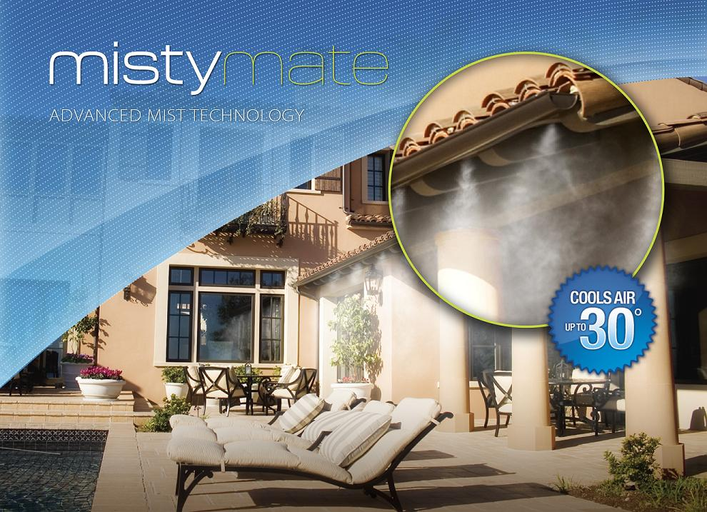 Mistymate Cool Patio 10 Foot Home Outdoor Misting System