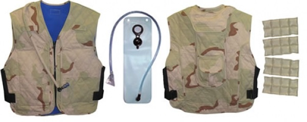 Techkewl Hybrid Cooling Military Vest With Personal