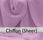 Chiffon (Sheer) Solids