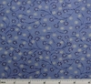Cotton Voile Blue Print 2G020