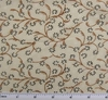Cotton Voile Taupe Print 2G020