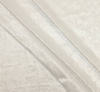 """Crushed Panne Velour <br> Optic White <br> Width 58/60"""""""