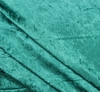 Crushed PanneVelour Mermaid Green Width 58/60""