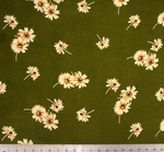 """Rayon Crinkle 1D566 Olive/Ivory Width 52/54"""""""