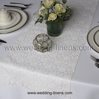 Lace Wedding Table Runner - More colors available