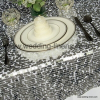 Sparkling Sequins Table Overlay