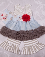 Giggle Moon Wedding Bells Tutu Dress Set