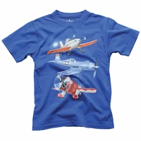 Wes and Willy Airplanes tee
