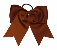 Copper 6.5 Solid Color Sport Hait Bow