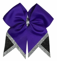 NEW 2017 Purple with Glitter Silver and Black