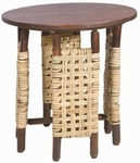 Old Hickory Covered Porch Side Table