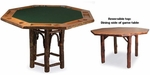 Old Hickory Hoop Game Table