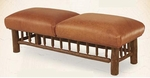 Old Hickory Grove Park Double Ottoman