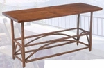 Old Hickory Sun Valley Indoor Sofa Table