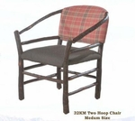 Old Hickory Two Hoop Chair Medium Size