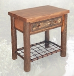 Old Hickory Woodland Nightstand
