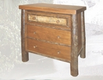 Old Hickory Woodland Three Drawer Night Chest