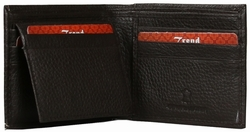 KC-48 Trend New York Kiev Collection Genuine Leather Dress Wallet - Brown