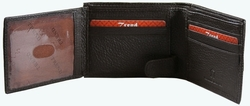 KC-57 Trend New York Kiev Collection Genuine Leather Dress Wallet - Brown
