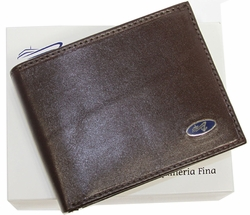 YT-67 Yacht Brown Leather Wallet