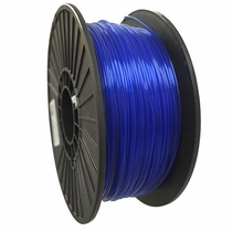Crystal Series PLA - 3D Filament - 1.75mm - Translucent Blue - 1KG