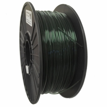 Crystal Series PLA - 3D Filament - 1.75mm - Translucent Green - 1KG