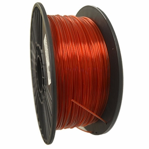 Crystal Series PLA - 3D Filament - 1.75mm - Translucent Red - 1KG