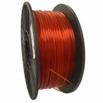 Crystal Series PLA - 3D Filament - 2.85mm - Translucent Red - 1KG