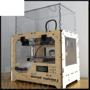 Duplicator 4X (Dual Extruder) 3D Printer + 2KG of FREE Filament + 1yr Warrantee + Free Shipping