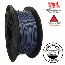 Raptor Series PLA - High Performance 3D Filament - HD Vivid Blue Steel  -  1.75mm  -  1KG