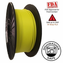 Raptor Series PLA - High Performance 3D Filament - HD Vivid Yellow  -  1.75mm  -  1KG
