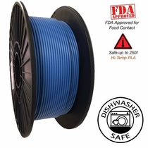 Raptor Series PLA - High Performance 3D Filament - Vivid Blue - 2.85mm  -  1KG