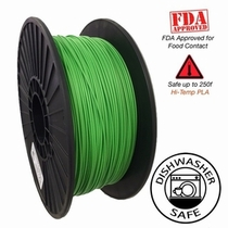 Raptor Series PLA - High Performance 3D Filament - Vivid Green - 2.85mm  -  1KG