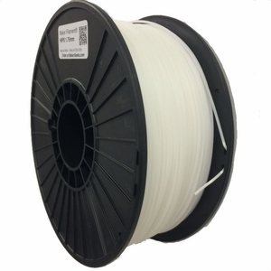 HIPS Filament by Maker Filament -  2.85mm - Pure White 1kg