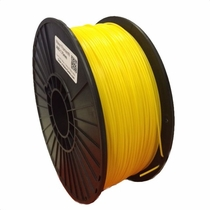 ABS Filament by Maker Filament - 1.75mm - Sun Punch Yellow 1kg