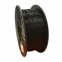 PLA Filament by Maker Filament -  1.75mm - Dark as Night Black 1kg