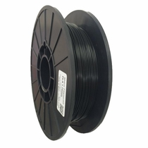 PLA Filament by Maker Filament -  1.75mm - Dark as Night Black 1.1lb (0.50kg)