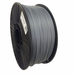 PLA Filament by Maker Filament -  1.75mm - Pure Silver 1kg