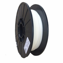 PLA Filament by Maker Filament -  1.75mm - White Hot (White) 1.1lb (0.50kg)