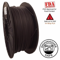 Raptor Series PLA - High Performance 3D Filament- HD Dark Chocolate- 2.85mm - 1KG