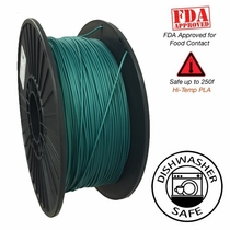 Raptor Series PLA - High Performance 3D Filament- HD Deep Dark Forest -  1.75mm - 1KG
