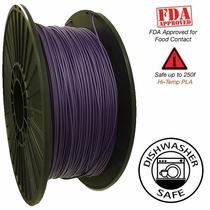 Raptor Series PLA - High Performance 3D Filament- HD Purple -  2.85mm - 1KG