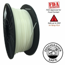 Raptor Series PLA - High Performance 3D Filament- HD Snow White - 2.85mm - 1KG