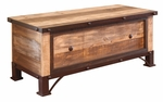 Antique Multicolor Bedroom Trunk