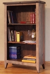 Antique Multicolor Bookcase - 55""