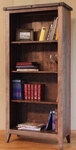 Antique Multicolor Bookcase - 70""